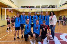 Dar daugiau pergalių studentų sporte: KTU vaikinų rinktinė –  XXX A. Karkausko Taurės tinklinio turnyro čempionai!