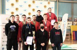 Sėkmingas KTU studentų pasirodymas Lietuvos studentų sambo čempionate!