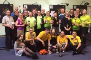 Lietuvos Darts Federacijos taurėje 2016 m. iškovotas sidabras